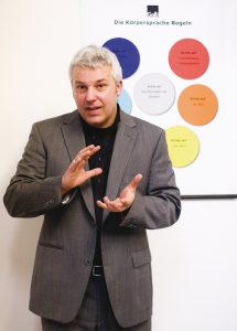 Michael Wenk, Leiter Galli Trainings Center und Galli Business Theater