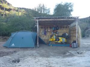 Auch Mexico auf der Baja California. Ein paar Tage lebte ich wie Robinson.
