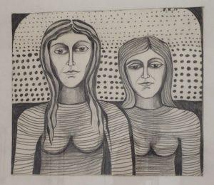 Ein Hobby: Die Malerei Bild: Claudia Kaviani