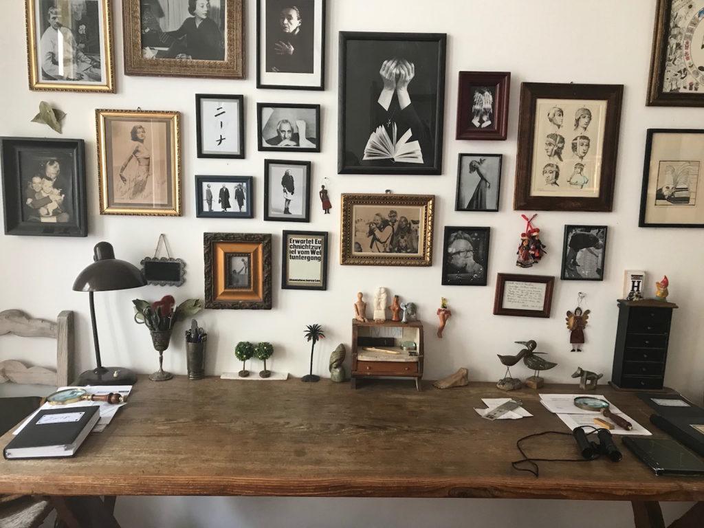 Nina Jäckle, der Schreibtisch als kreativer Ort